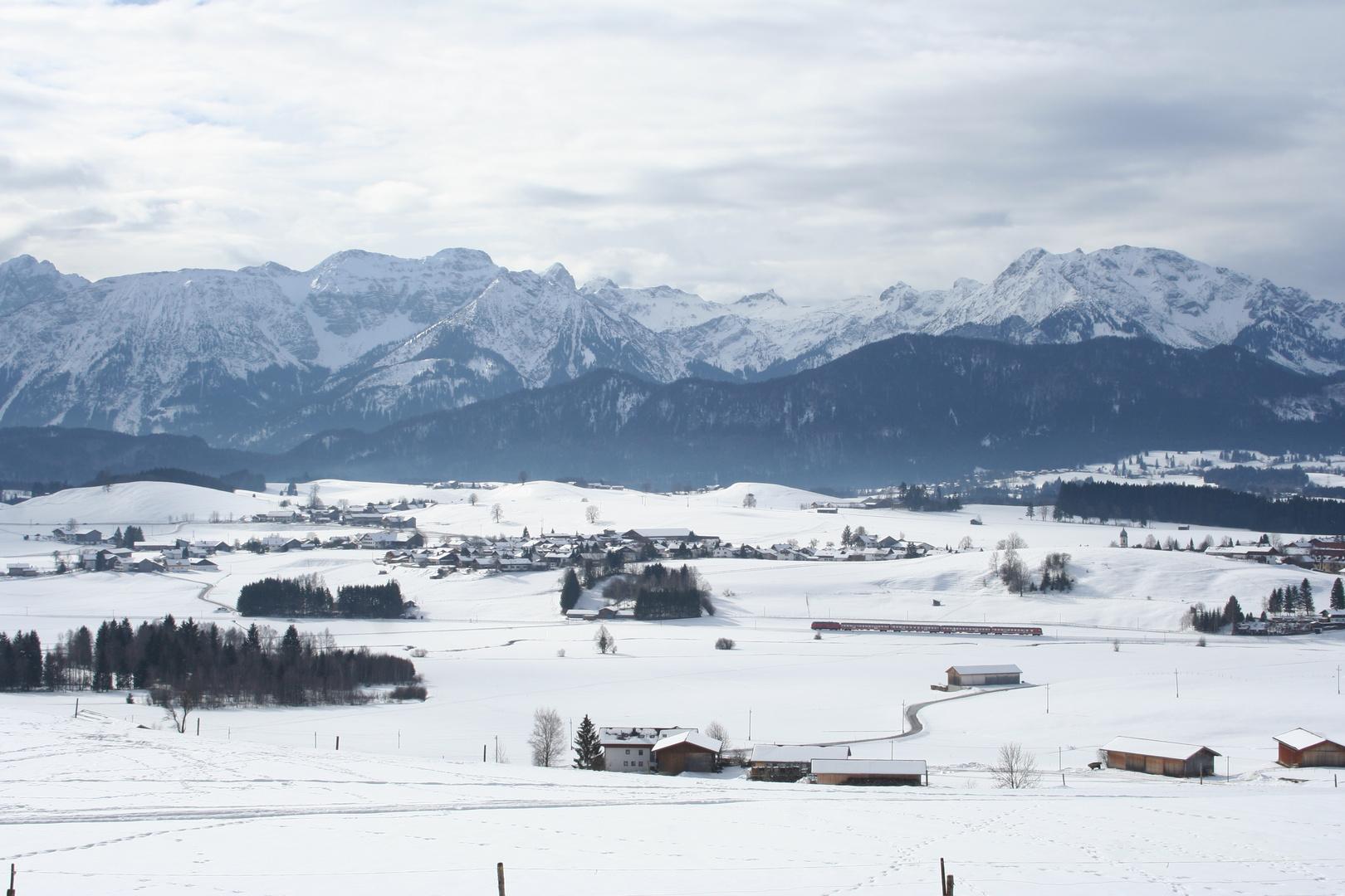 Wintertag im schönen Allgäu