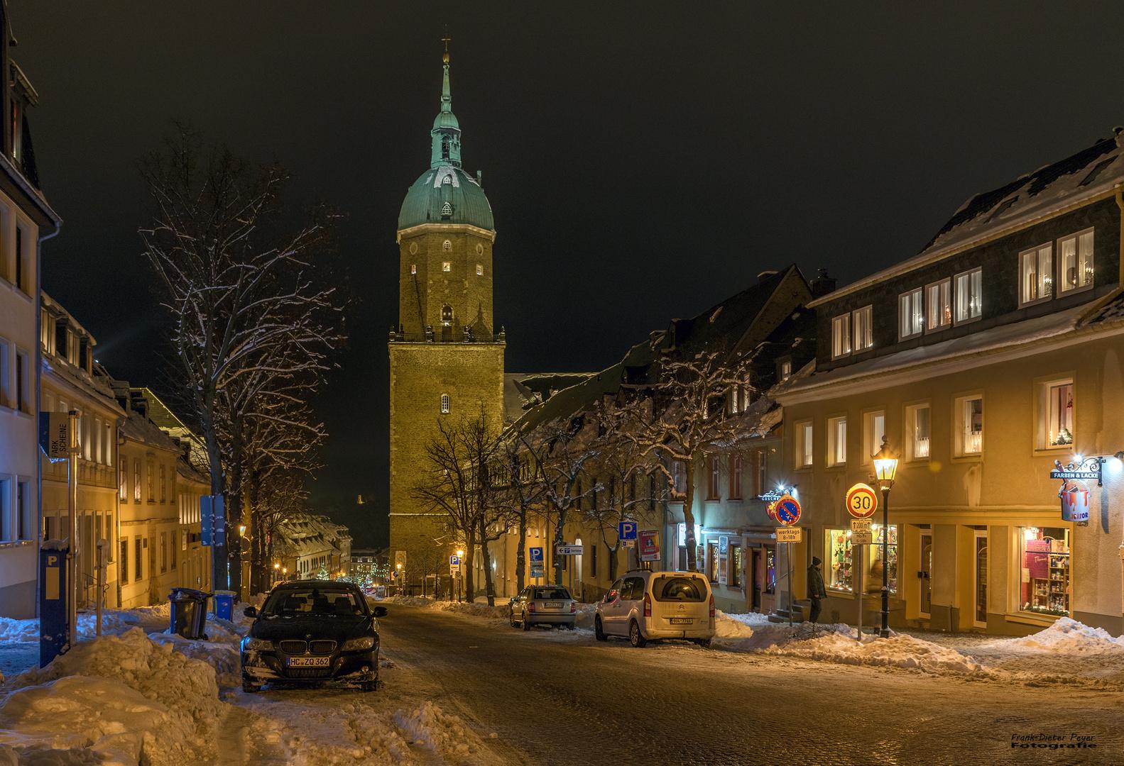 Wintertime in Annaberg-Buchholz
