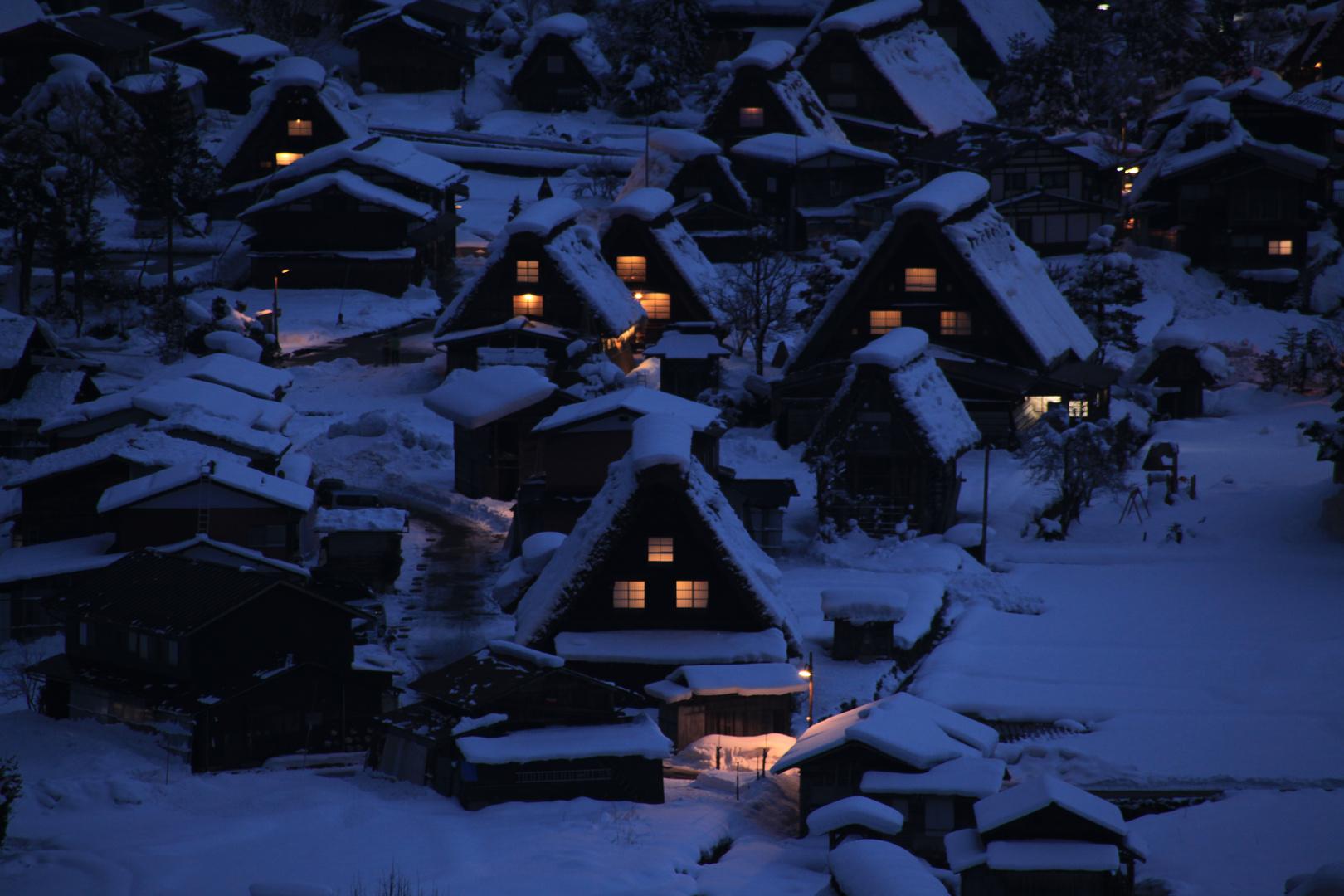 Wintertime in Shirakawa-Go