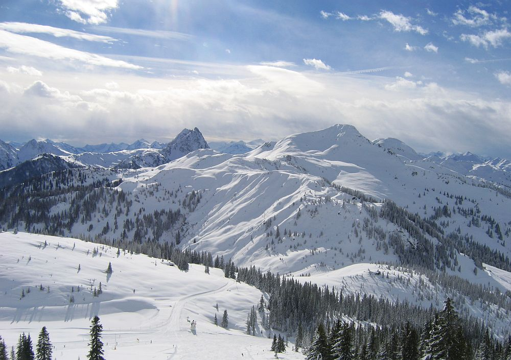 Wintertraum in den Kitzbüheler Alpen...