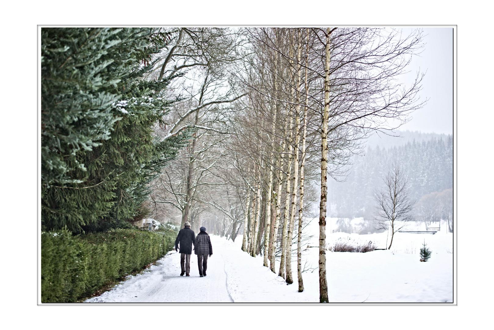 Wintertraum zu zweit