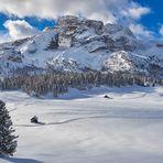 Wintertraumland Dolomiten, Kleinod in den Dolomiten die Plätzwiese die 2.