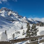 Wintertraumland Dolomiten, von so einem Winter können wir nur träumen.