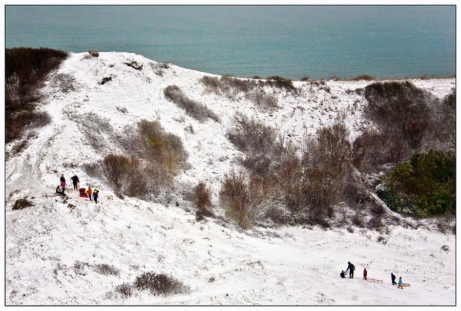Wintervergnügen auf Helgoland...