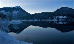 Winterwalchenseeabend