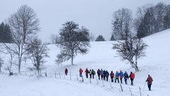 Winterwandern im Hintergebirge