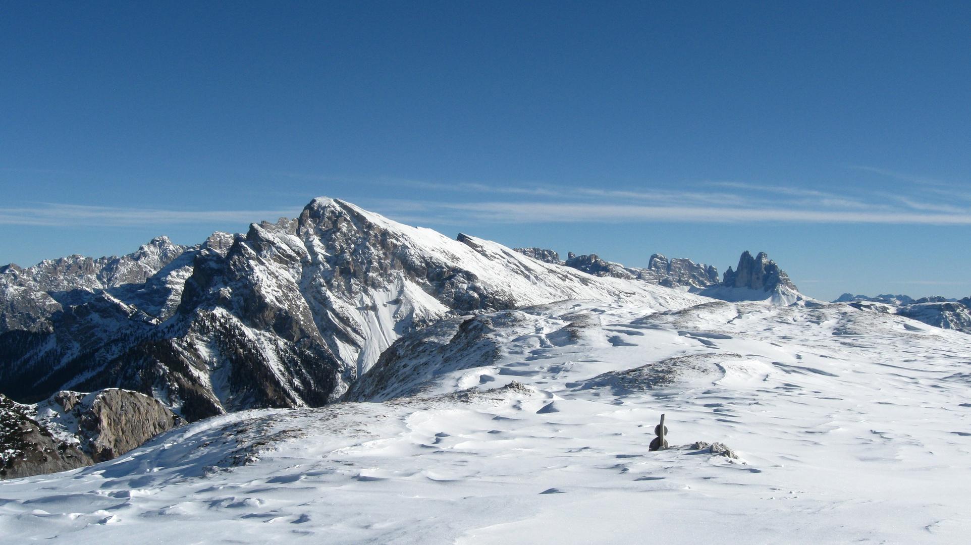 Winterwanderung in den Pragser Dolomiten