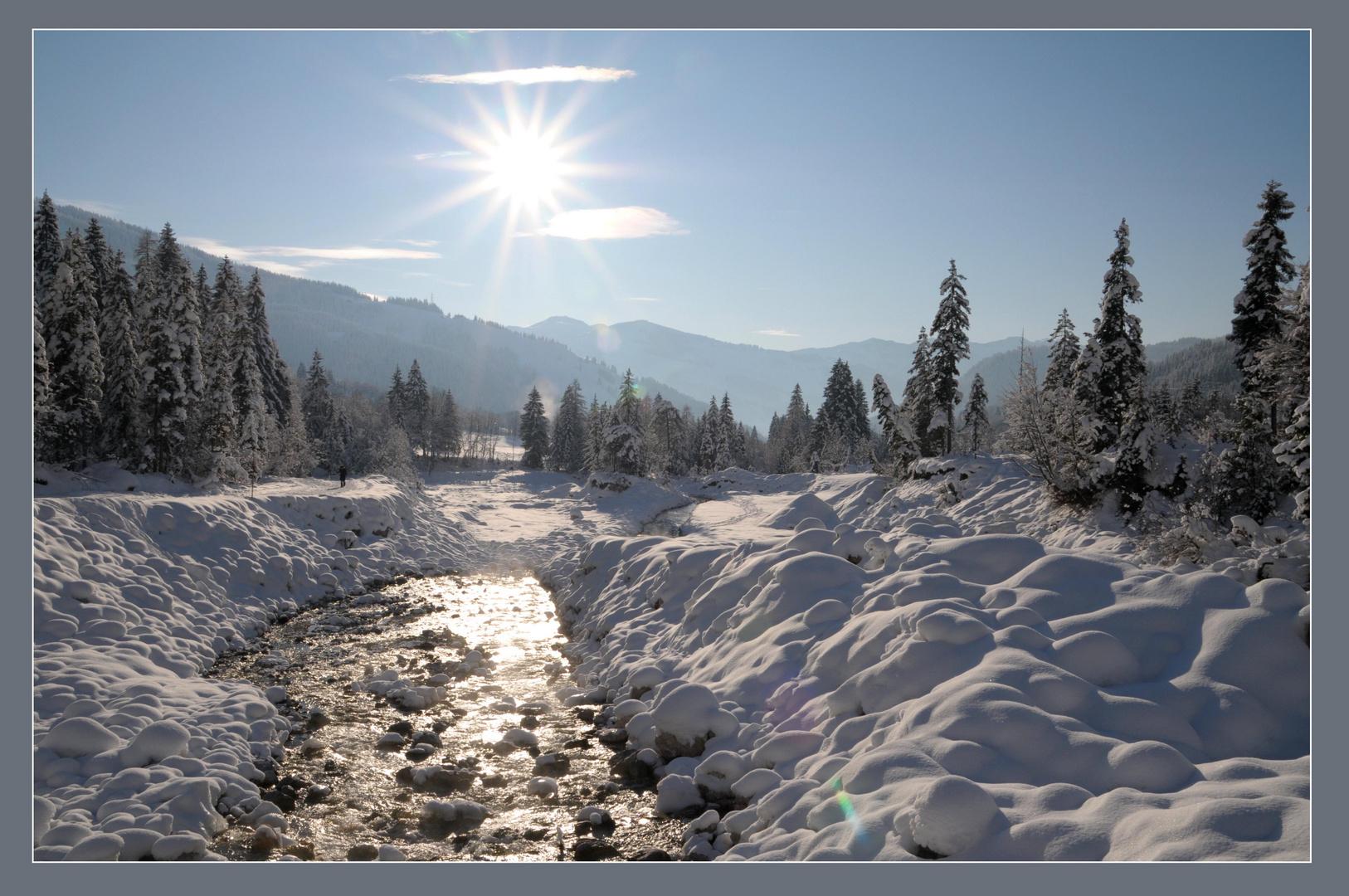 Winterwanderweg - Maria Alm - Hintertal