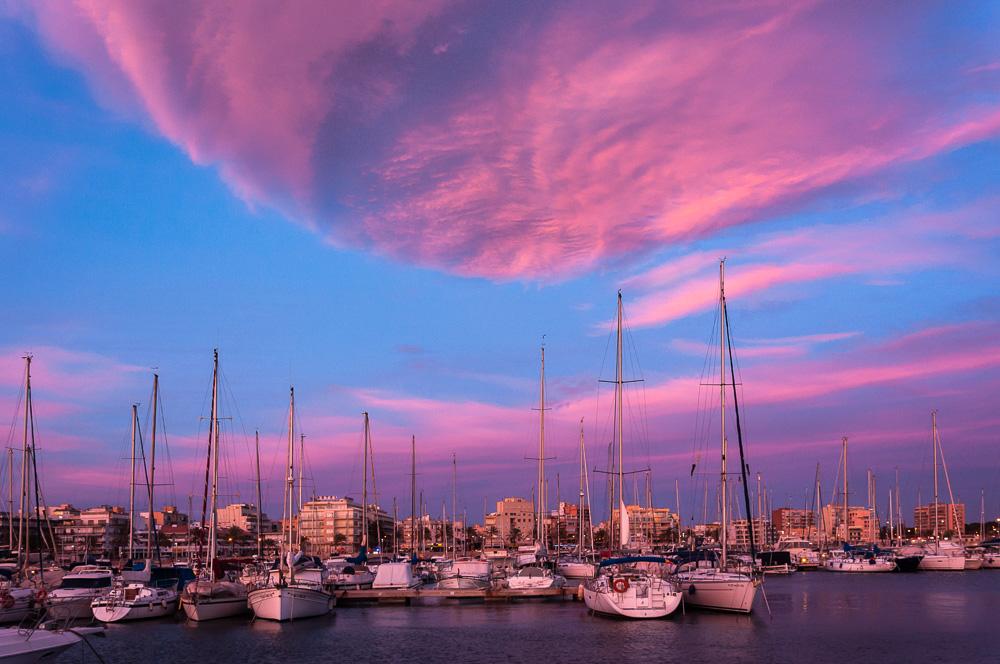 Winterwolken auf Mallorca