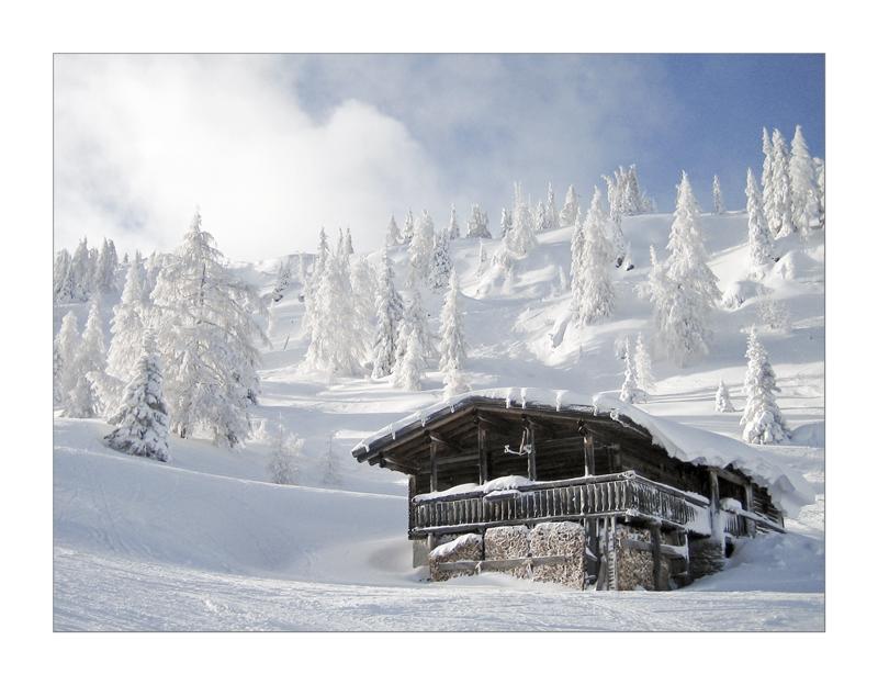 Winterwonderland at Reiteralm