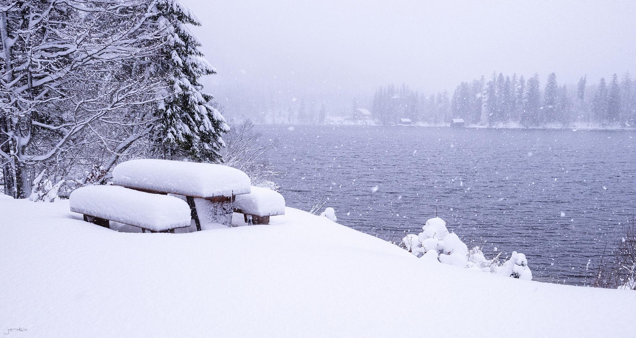 Winterwunderland Ödensee