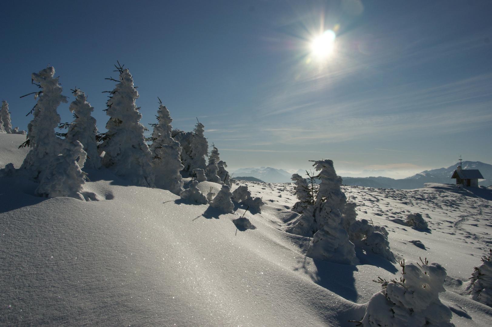 Winterzauber am gr. Ötscher