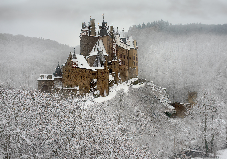 Winterzauber Burg Eltz