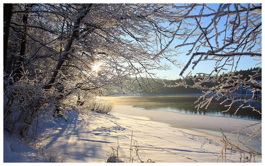 Winterzeit am Sorpesee