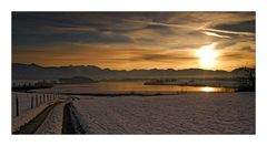 Wintry Sunset - Wintersonnenuntergang