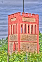 Winzer Turm bei Osthofen in HDR