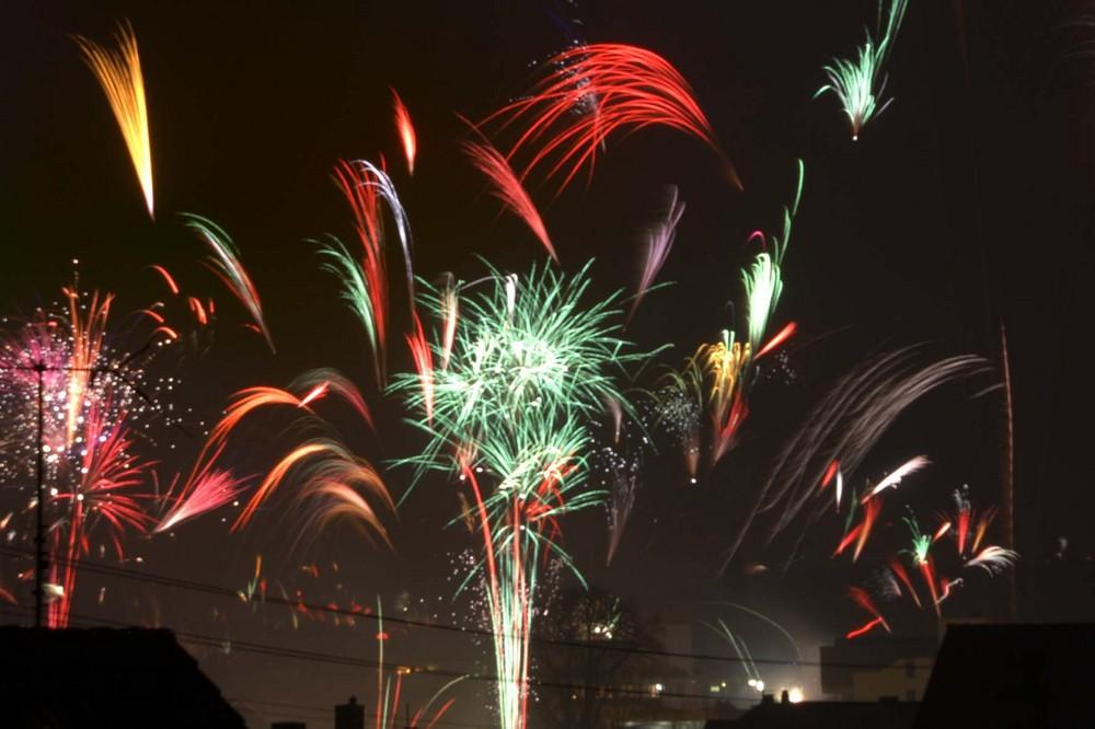 Wir begrüßen das NEUE Jahr.