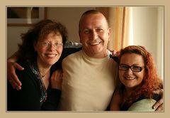 Wir drei Hübschen :-)