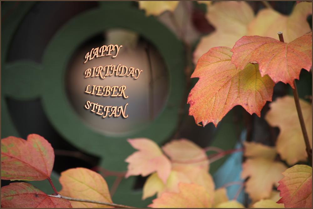 Wir gratulieren Dir Geburtstagskind