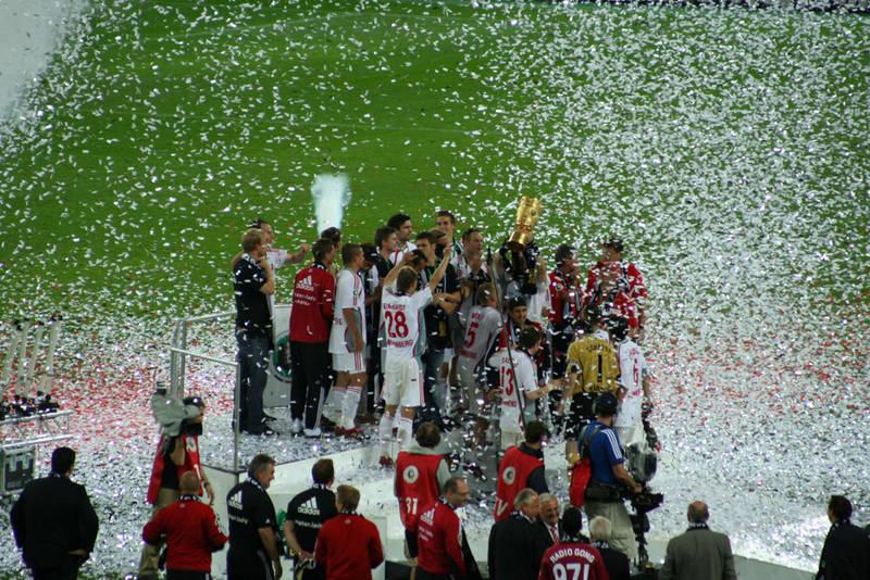 Wir haben den Pokal!!!