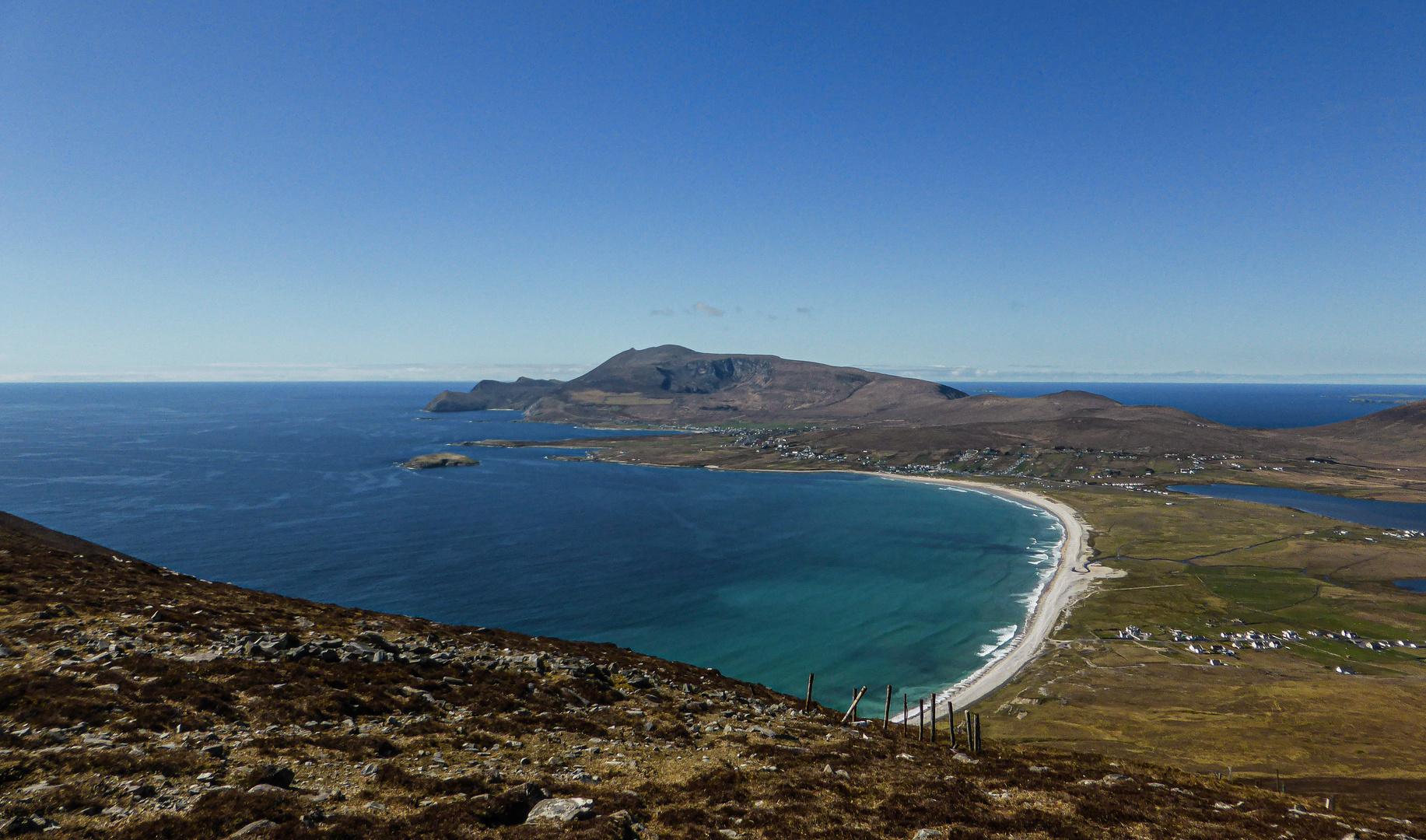 Wir haben hier auf Achill Island...