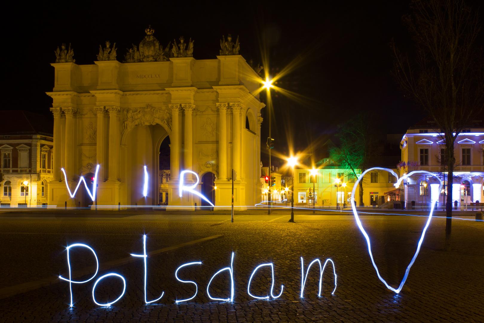 Wir lieben Potsdam