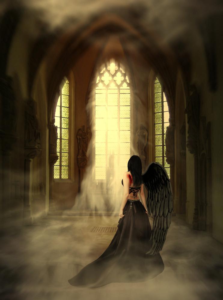 Allein Mit Einem Sinnlichen Engel