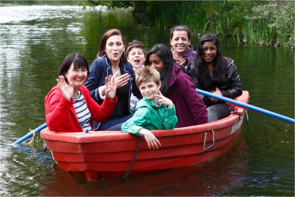 Wir sitzen alle in einem Boot