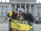 """"""" Wir """" vor dem Reichstag ( DFB - Pokalfinale 2008 )"""