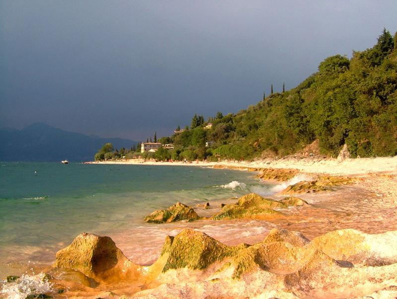 Wird es Regen geben am Gardasee?