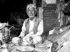 wise old man in Bhaktapur