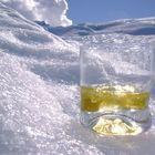 wisky en el Glaciar