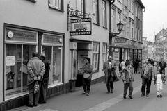 Wismar im März 1990