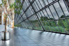 Wissenschaftspark Gelsenkirchen - Die andere Seite des 300 m langen Ganges