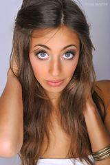 with big eyes