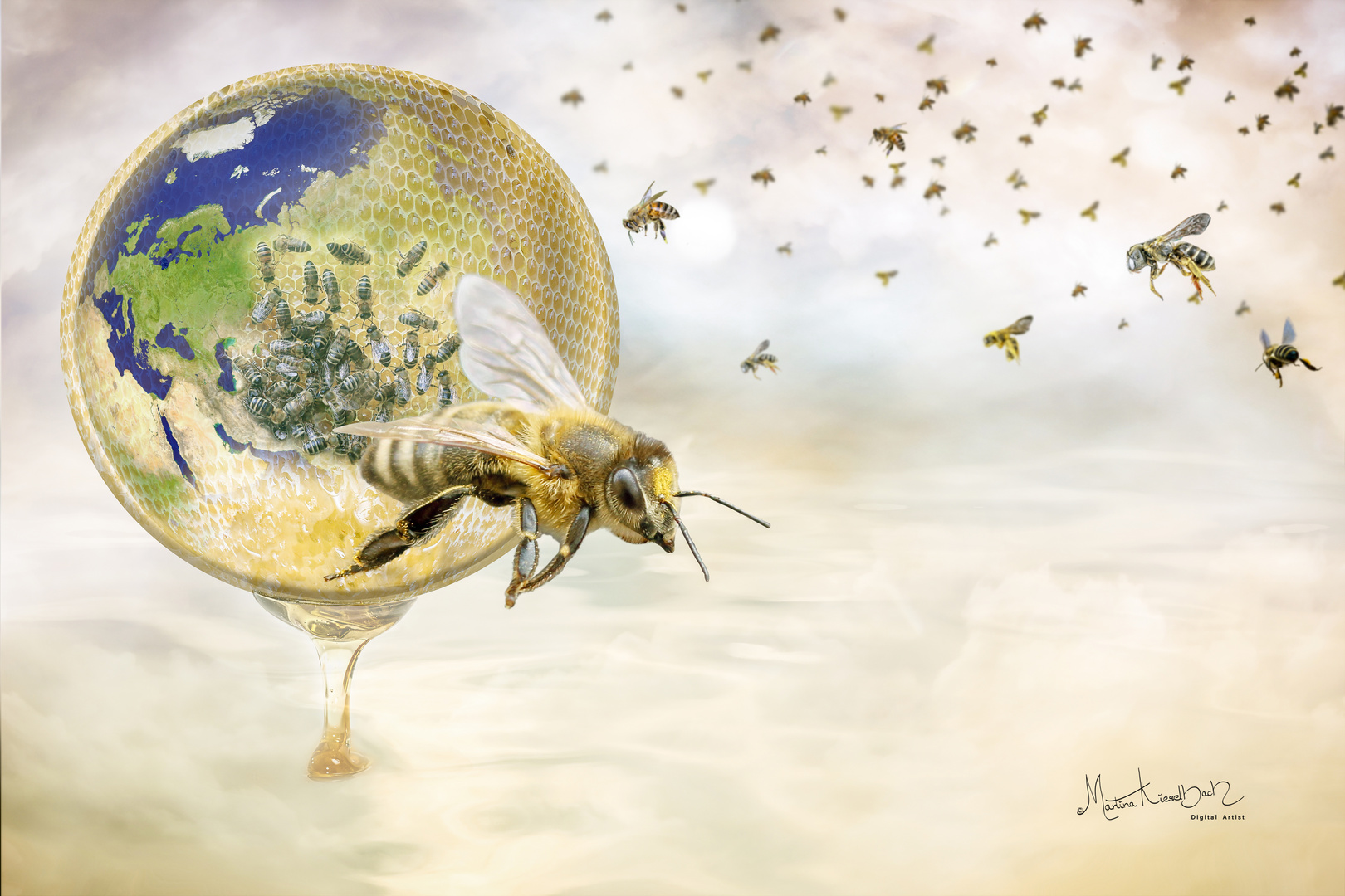 Without the bees, the world is nothing ...