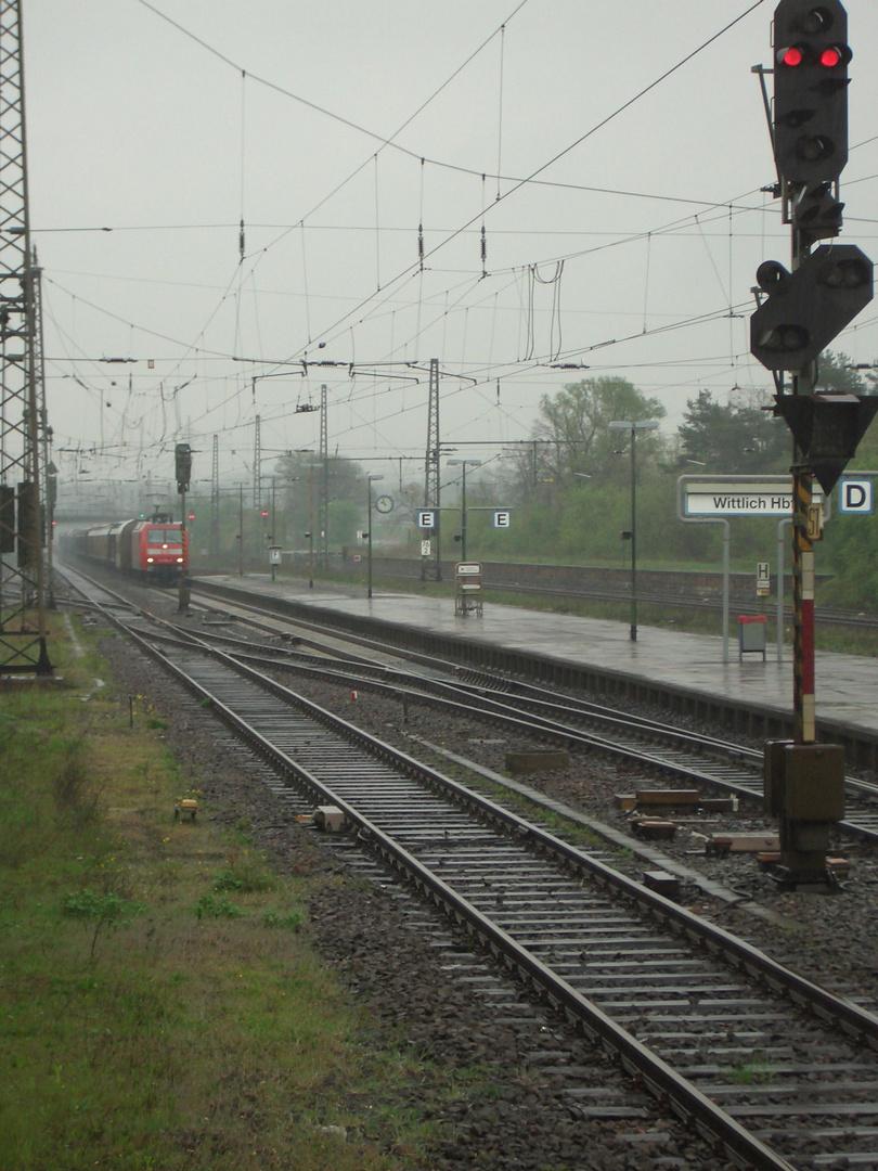 Wittlich Hbf mit einem Güterzug