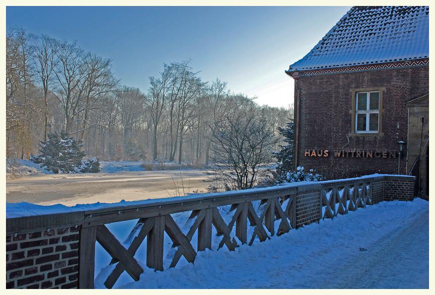 Wittringen im Schnee