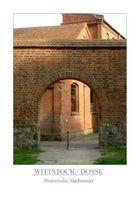 Wittstock / Dosse - Historische Stadtmauer