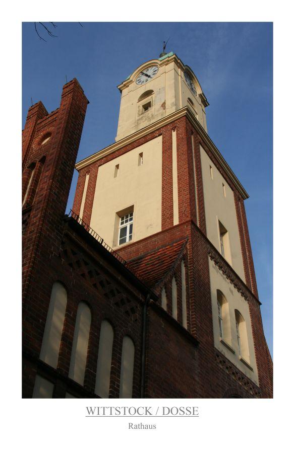 Wittstock / Dosse - Rathaus