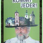 Witzige Fremdenverkehrswerbung in Siegen