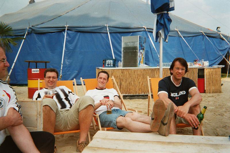 WM Party 2006. Ein Strand mitten in Diepholz und ein Circuszelt zum Feiern.. Einmalig!!!
