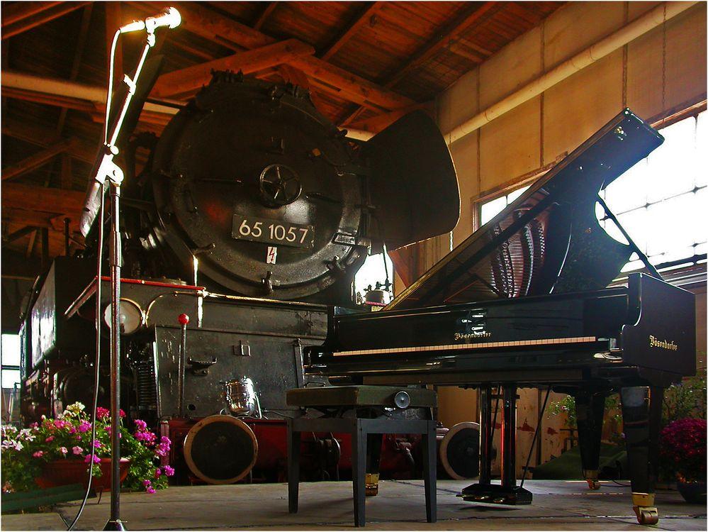 Wo bleibt der Pianist ...