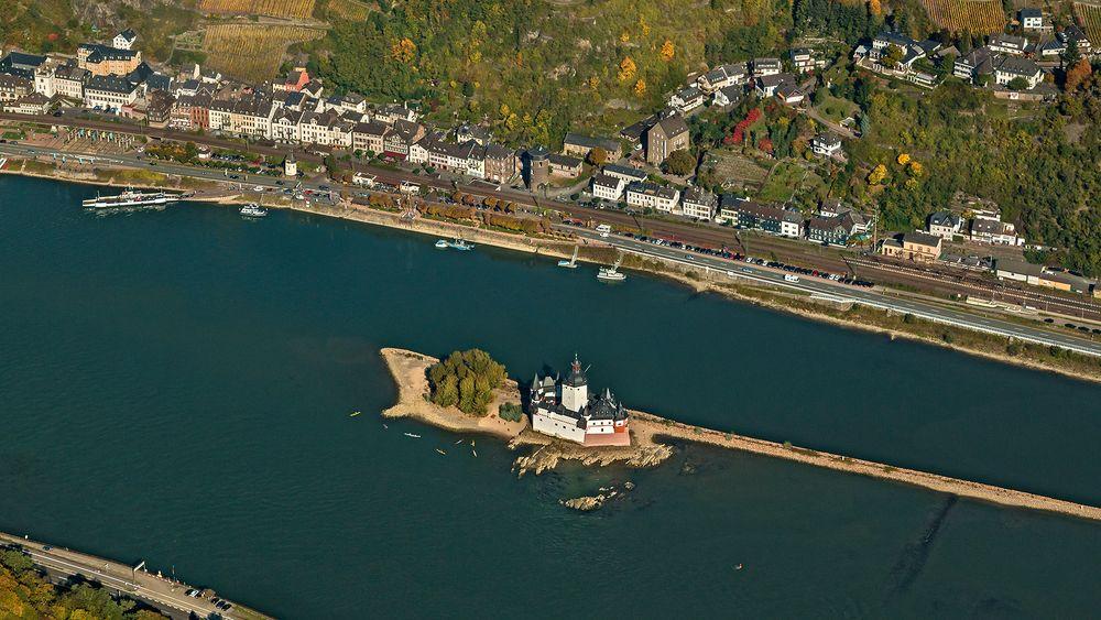 Wo BLÜCHER einst den Rhein überquerte  (2)