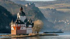 Wo BLÜCHER einst den Rhein überquerte