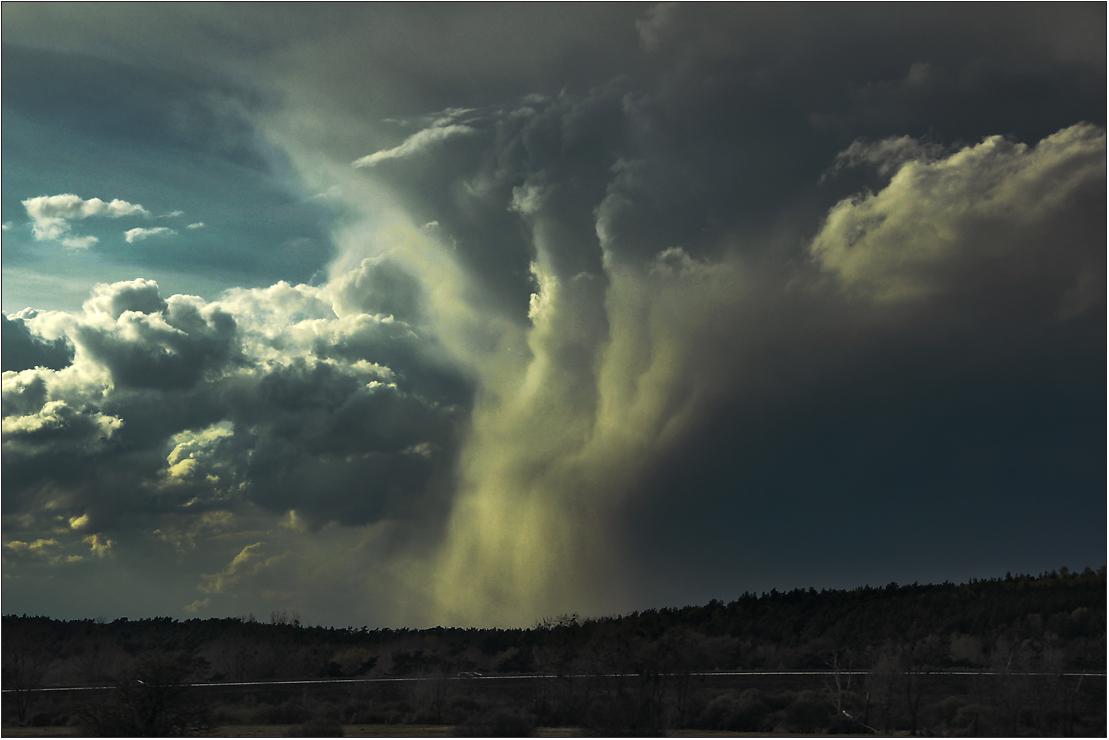 Wo der Regen vom Himmel fällt ...