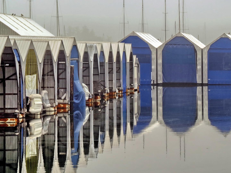 Wo die Boote schlafen