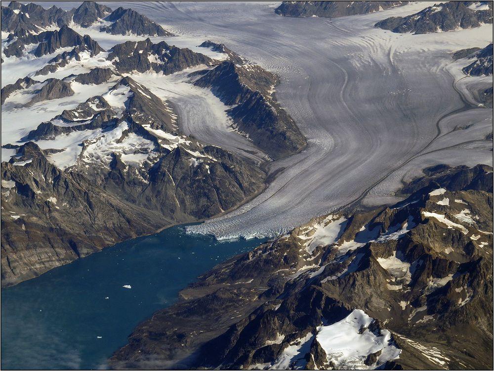 Wo die Gletscher kalben ...