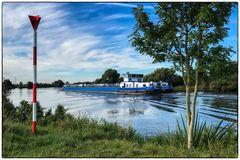 Wo die Weser einen Bogen macht