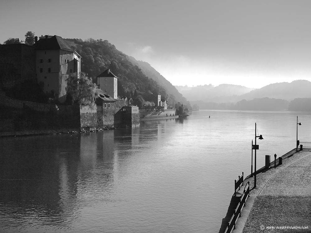 Wo Donau und Ilz.....